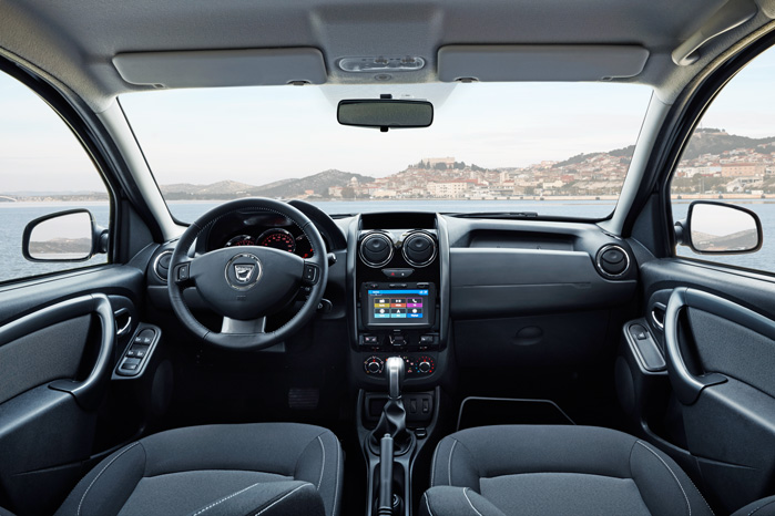 Dacia Duster har fået nye dørgreb og MediaNav Evolution med DAB-teknologi