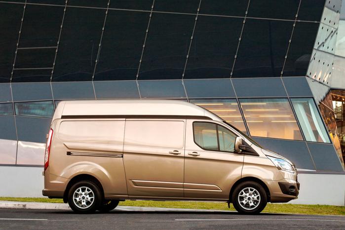 I 2019 får vi Transit Custom som plugin hybrid med EcoBoost-motor
