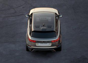 Indtil videre er dette eneste billede af Range Rover Velar.