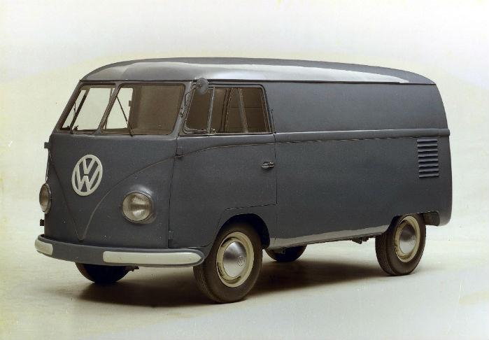 T1 - VW's første varevogn - kom på gaden i 1950