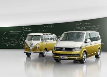 Jubilæumsmodellen bærer emblemet 'Bulli' som måske er en sammentrækning af ordene 'bus' og 'lieferwagen' (varevogn)