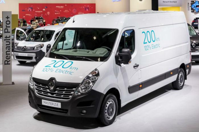 Renault Master kommer til Danmark i efteråret i en eldrevet version med 33 kWh's batteri