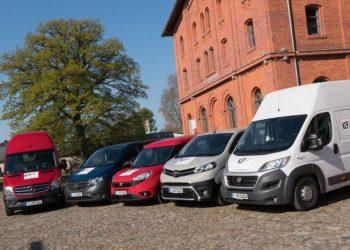 KEP-vinderne er fra venstre Mercedes-Benz Sprinter, Mercedes-Benz Vito,  Fiat Doblo, Toyota Proace og Fiat Ducato. Foto: Thomas Kueppers