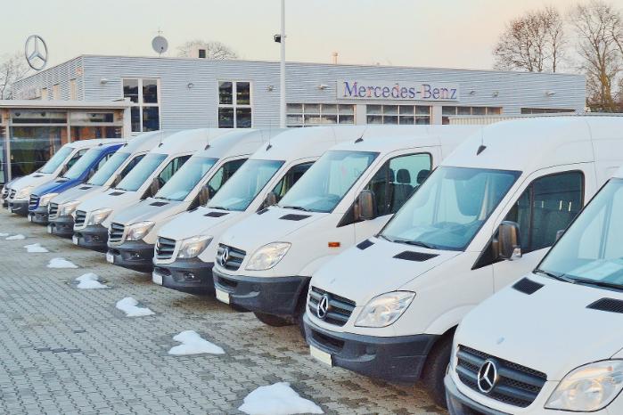Salget af varebiler i Europa tog en nedtur i april måned