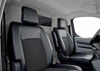 Med komfortadskillelsen bliver det en komfortabel køretur - også for de større førere