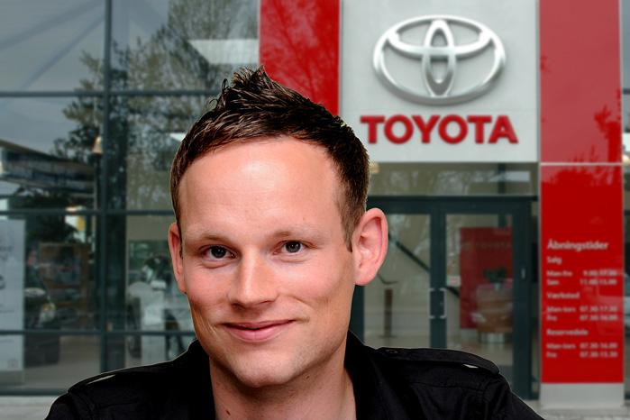 Anders Tystrup, pressechef i Toyota Danmark, fortæller om baggrunden for Toyota Academy