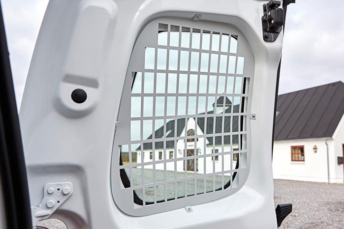 Er der monteret sikkerhedsgitter i vinduerne, kommer tyven ikke ind her