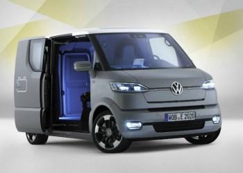 eT! kom frem for nogle år siden som VW's bud på, hvordan en varebil i anden halvdel af det 21. århundrede kunne se ud