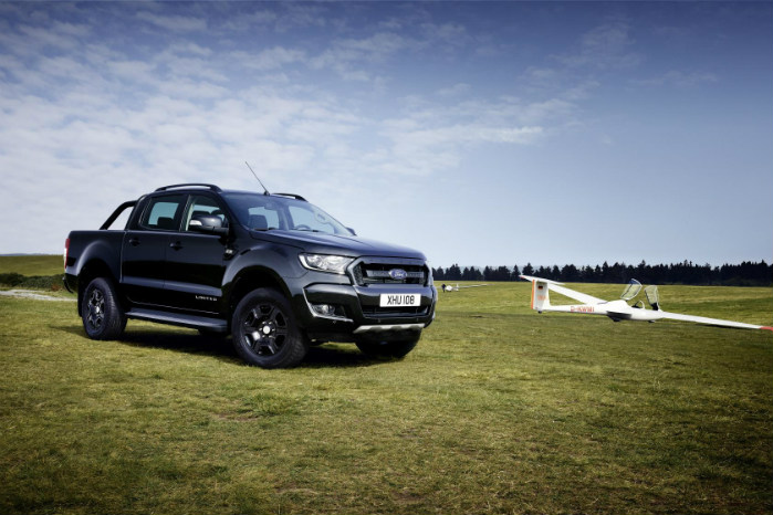 Ford Ranger er i specialudgaven Black Edition gået helt i sort