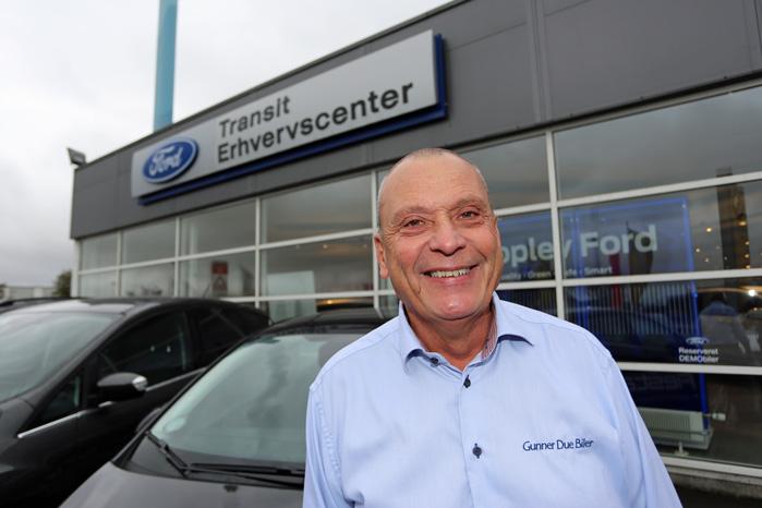 Vi ser flere og flere af denne type indbrud, siger salgschef i erhvervsafdelingen hos Ford i Roskilde