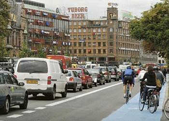 I 2019 bør der efter overborgmester Frank Jensens mening ikke være adgang til hovedstadens miljøzone for varebiler, der ikke lever op til minimum Euro 4. Foto: DMU