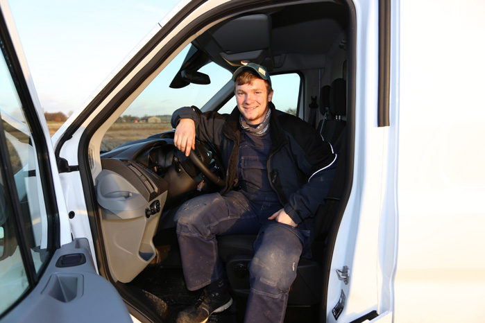 Jacob Munk er vild med Transit 4x4, men et luftaffjedret førersæde burde være standard i den hårde firehjulstrækker