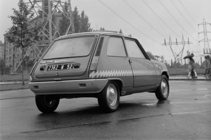 Renault 5 electric blev udviklet i samarbejde med det franske elforsyningsselskab Électricité de France.
