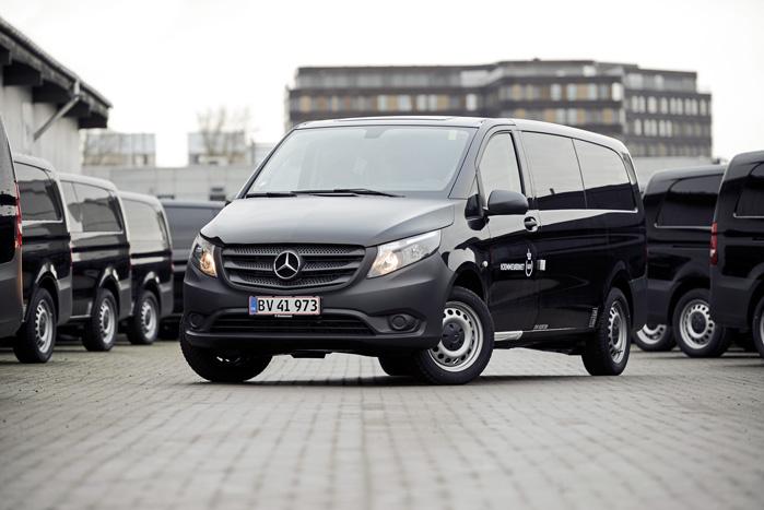 Automatgear og firehjulstræk er standard på alle biler i den nye aftale
