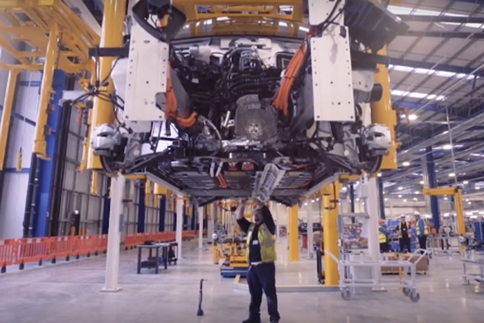 For en del af Geely's 325 millioner pund har London Electric Vehicle Company bygget en ny bilfabrik i Coventry