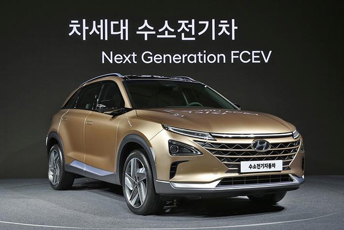 Hyundai vil foreløbigt koncentrere samarbejdet med Aurora i deres nye brint-drevne SUV, som blev præsenteret i august