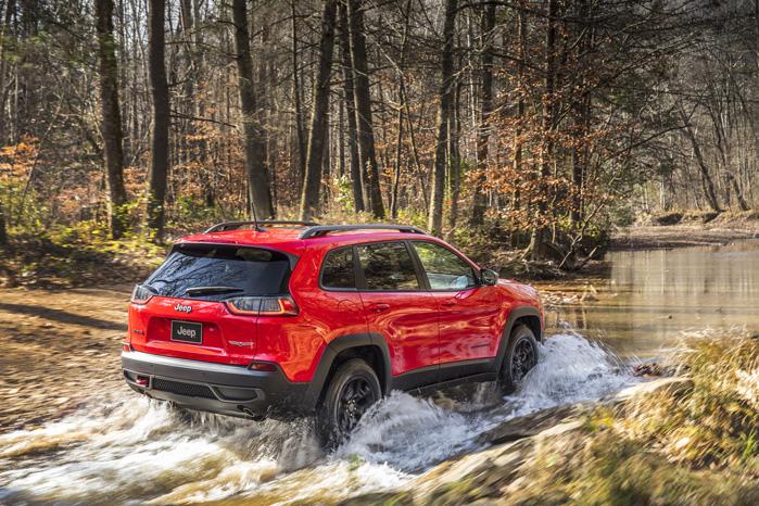Jeep Cherokee er andet og mere end en asfaltfræser. 4x4 burde være standard