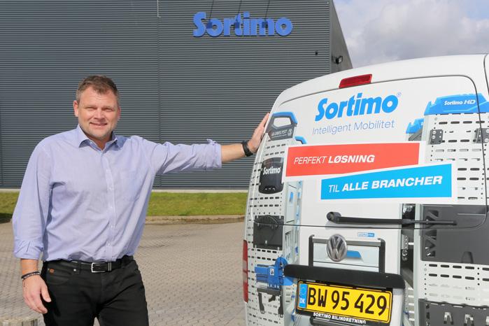 Michael Petterson fra Sortimo anbefaler LED-belysning og termoisolering til varerummet i den danske vinter
