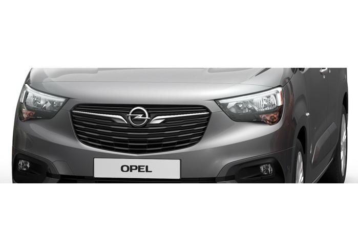 Indtil videre ser det ud til, at Opel genbruger fronten fra Meriva