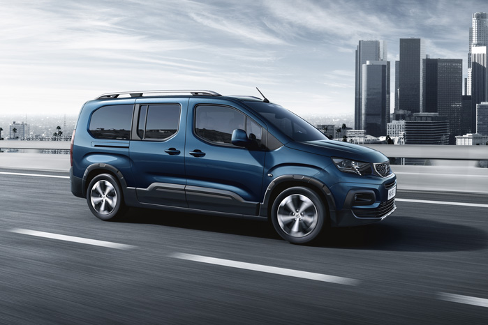 Peugeot Partner skifter navn til Rifter. Om det også kommer til at gælde for varebilen, ved vi ikke endnu