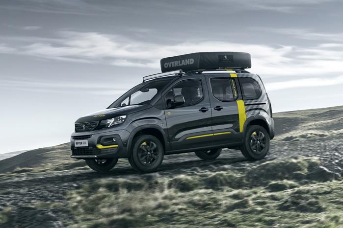 Sådan sil Peugeot have os til at drømme om Rifter 4x4