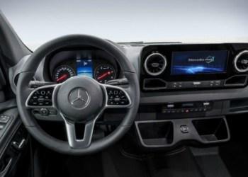 Takket være infotainmentsystemet MBUX kan den nye Mercedes Sprinter fås med navigationssystemet What3Words