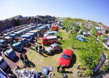 Omkring 100 ægte Barndoors kommer til den hollandske festival for VW klasssikere