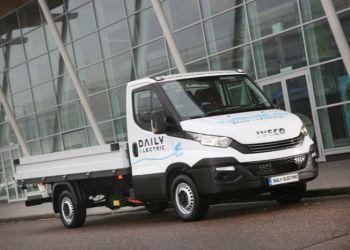 Iveco er blandt de bilmærker, der er længst fremme med elektrificering af 3,5-tons klassen