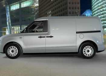 Sådan ser den ud - LEVC's nye varebil, der deler platform og teknologi med den nye Londontaxi
