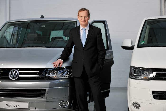 54-årige Eckhard Scholz efterlader en sund forretning, hvor næsten alle varebilmodeller er i fremgang