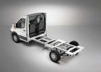 Der kan vælges mellem tre akselafstande: Foto: Ford