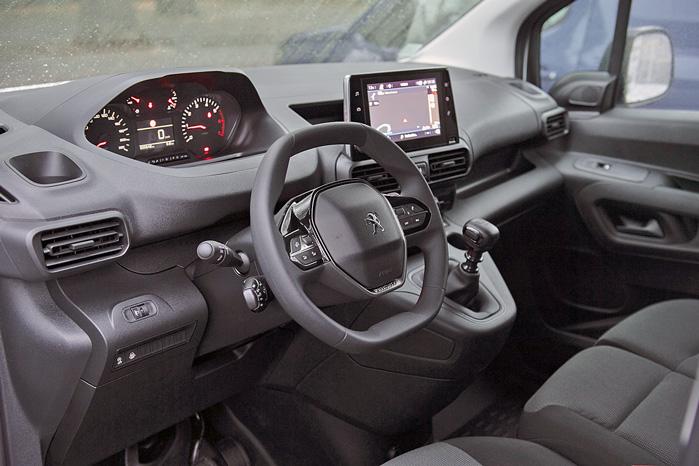 Og Peugeot Partners nye i-Cockpit