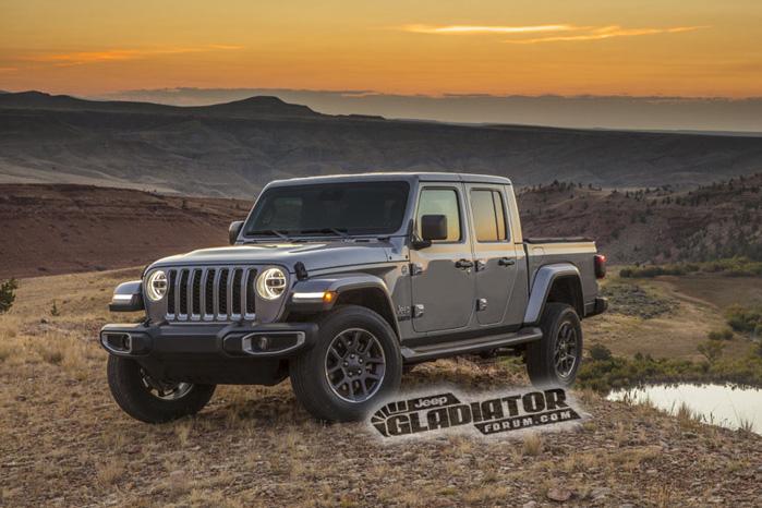 Sådan skal en amerikansk pickup præsenteres - omgivet af ørken og solnedgang