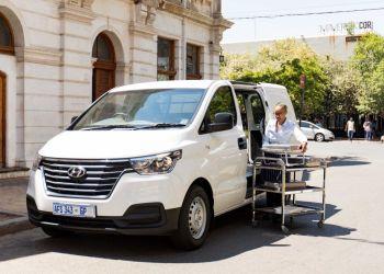 Anden generation af Hyundai H-1 Van har fået et mildt facelift. Bilen ventes til Danmark tidligst i 2019. Foto: Hyundai