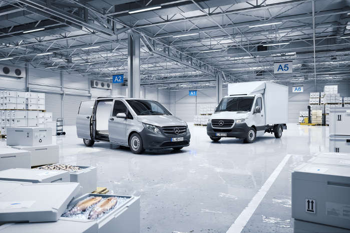 Conversion World omfatter alle modeller fra Citan over Vito til Sprinter
