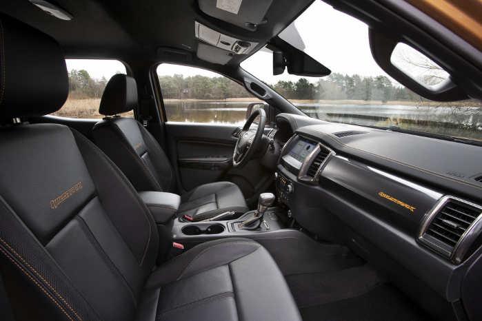 Ford Ranger får automatisk nødbremse med fodgængerregistrering som standard