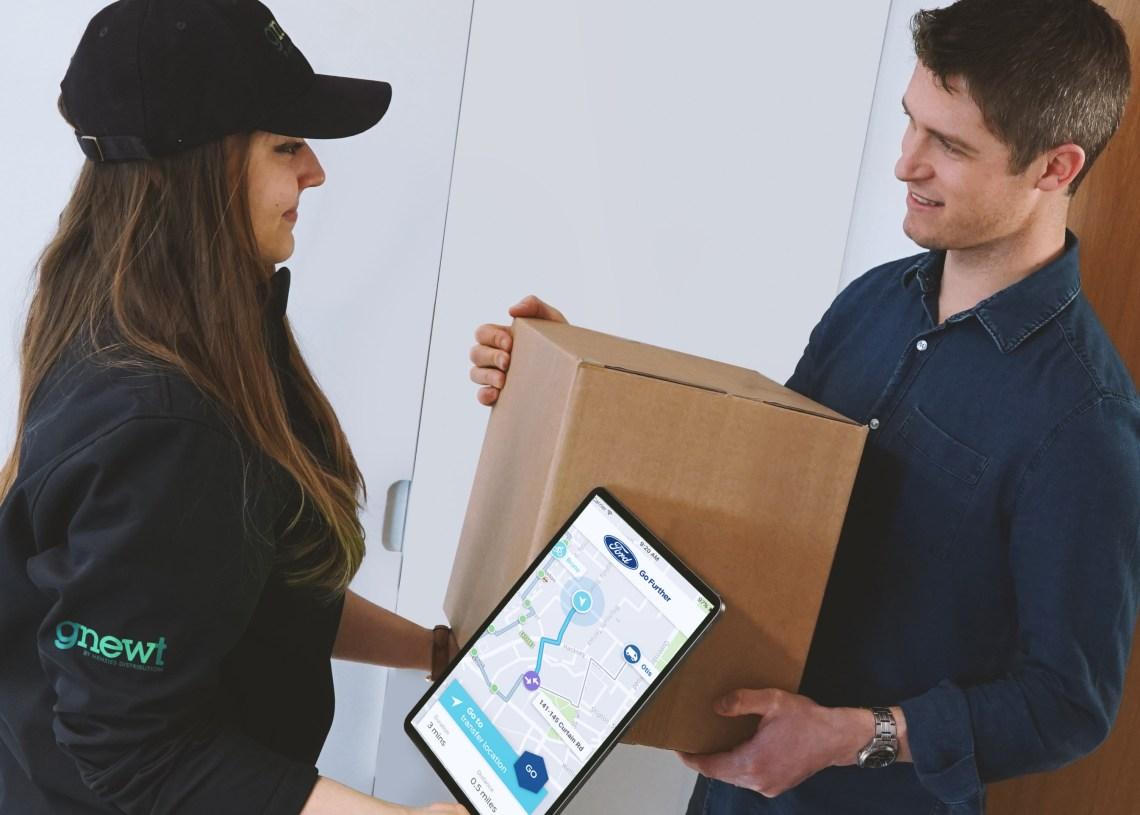Den nye tjeneste vil ifølge Ford kunne forbedre kundeservicen markant ved at give mere præcise leveringstidspunkter