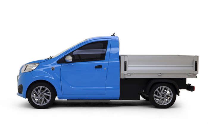 Som pickup har Epic0 et lad på 1,2 kvadratmeter og kan laste 400 kg