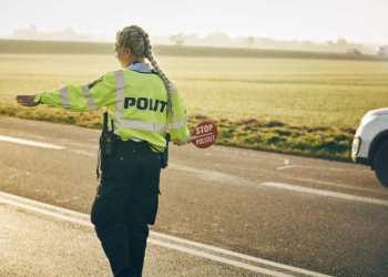 I denne uge er politiet ude efter bilister der glemmer selen eller blot er uopmærksomme i trafikken. Foto: Niclas Jessen