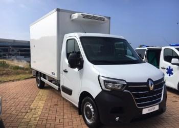 Ombyggede Renault Master-modeller