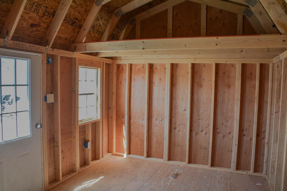 Just In 10 215 16 Side Lofted Barn Repo Alto Portable