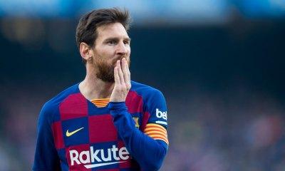 Messi se va del Barcelona.