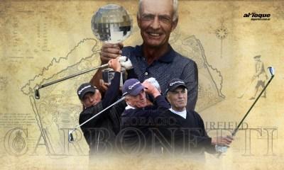 La historia de Horacio Carbonetti, el riocuartense que fue récord en un torneo de golf en Inglaterra.