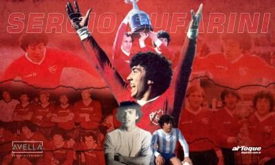Hace 40 años Sergio Bufarini se comenzaba a meter en la historia grande Independiente de Avellaneda.