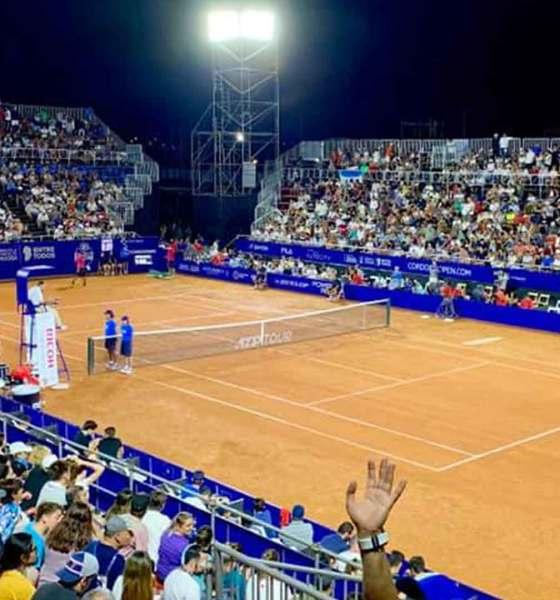 La tercera edición del Córdoba Open no verá público en sus gradas.