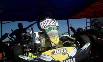 Fin de semana a puro karting en el kartódromo de Río Cuarto.