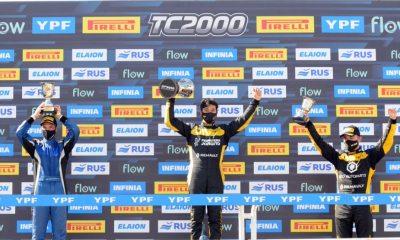 Marques fue tercero en la primera fecha del TC2000.