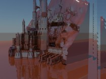 3D Red Palace 2