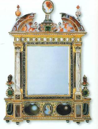 Starožitné zrkadlo datovania