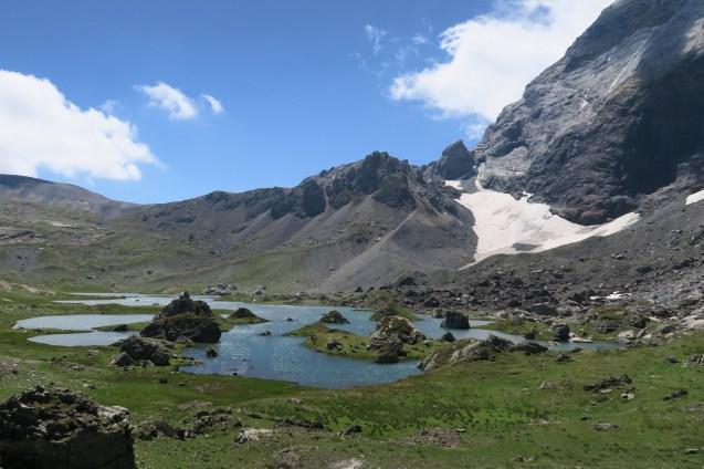 Le beau lac de Barroude